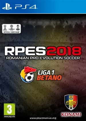 RPES2018 PS4 - Liga I în Pro Evolution Soccer 2018